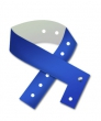 Vinyl polsbandjes, blauw